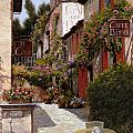cafe bifo Poster by Guido Borelli