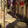cafe piccolo Print by Guido Borelli