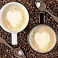Caffe Latte for two Poster by Gert Lavsen