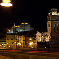 Calahorra Cathedral at night Poster by RicardMN Photography