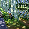 Canal du Midi France Print by Andrew Macara