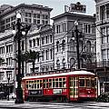 Canal Street Trolley by Tammy Wetzel