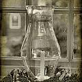 Candle and Window Print by Steven Ainsworth