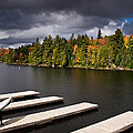 Canoe Lake Print by Cale Best