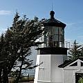 Cape Meares Lighthouse near Tillamook on the scenic Oregon Coast Poster by Christine Till