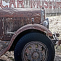 Car Museum Poster by TONY GRIDER