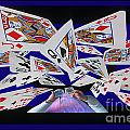 Card Tricks Poster by Bob Christopher
