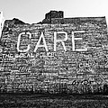 Care Graffiti Building Poster by Alanna Pfeffer