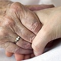 Caring For The Elderly, Conceptual Image Print by Crown Copyrighthealth & Safety Laboratory