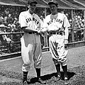 Carl Hubbell & Vernon Lefty Gomez Print by Everett