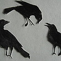 Carl's Crows Print by Betty Pieper