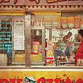Carnival - The Candy Shack Print by Mike Savad