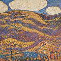 Carnival of Autumn Poster by Marsden Hartley