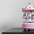 Carousel Toy  Print by Natee Srisuk
