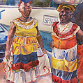 Cartegna Ladies Print by Joyce Kanyuk