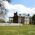 Carter House And Carnton Plantation Print by John Black