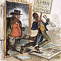 CARTOON: SLAVERY, 1861 Poster by Granger