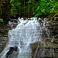 Cascading Falls Print by Frozen in Time Fine Art Photography