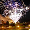 Castle Illuminations Print by John Kelly
