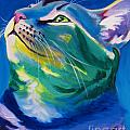 Cat - My Own Piece of Sky Poster by Alicia VanNoy Call