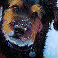 Catching Snowballs Print by Billie Colson