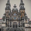 Cathedral of Santiago de Compostela Print by Jasna Buncic