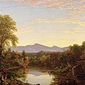 Catskill Creek - New York Print by Thomas Cole