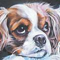 Cavalier King Charles Spaniel blenheim by Lee Ann Shepard