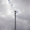Cell Phone Tower Print by Paul Edmondson