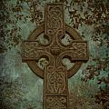 Celtic Cross 2 Poster by Bernice Williams