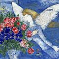 CHAGALL BLUE ANGEL Print by Granger