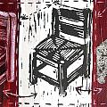 Chair V Print by Peter Allan