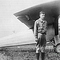 Charles Lindbergh American Aviator Print by Photo Researchers