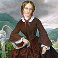 Charlotte Bronte 1816-1855 English Poster by Everett