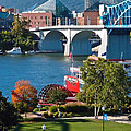 Chattanooga Landmarks Print by Tom and Pat Cory
