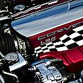 Checkered Flag Print by Ricky Barnard