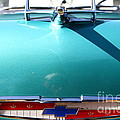 Chevrolet Bel-Air . Blue . 7D12851 Poster by Wingsdomain Art and Photography