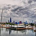 Chicago N Sails Print by Emily Stauring