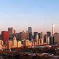 Chicago Panoramic  Poster by Jeff Lewis