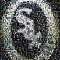 Chicago White Sox Ring Mosaic Print by Paul Van Scott