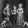 CHILDREN OF CHARLES I Print by Granger