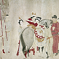 CHINA - CONCUBINE AND HORSE Print by Granger
