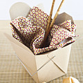 Chinese Takeout Container And Fortune Cookies Print by Pam McLean