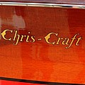 Chris Craft Logo Poster by Michelle Calkins