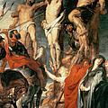 Christ Between the Two Thieves by Peter Paul Rubens