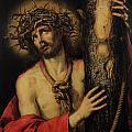 Christ Man of Sorrows Print by Antonio Pereda y Salgado