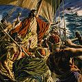Christ on the Sea of Galilee Poster by Jack Hayes