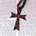 Christian  Cross Poster by Cynthia Amaral