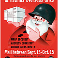 Christmas Overseas Gifts Poster by War Is Hell Store