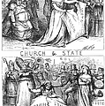 CHURCH/STATE CARTOON, 1870 Poster by Granger